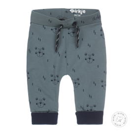 Dirkje-Baby Boys trousers Bio Cotton -Dusty green