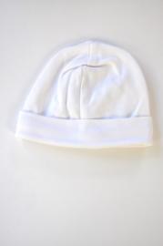 Unisex New Born Baby muts uni-LPC-white