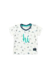 Bampidano-Baby Boys T-shirt-navy allover