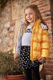 Kids girls knitted dress-Blue Seven- Fog orig