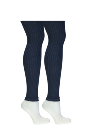 B.Nosy-Girls B.A Warrior legging with vertical stripes-space blue
