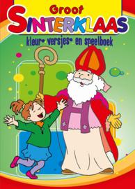 Sinterklaas Speelboek- C.W.- Multi Color