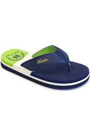 Unisex Flip-flop  Loreto with Nautical upper-Libaco-Green