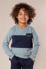 DJ Dutch Jeans-Boys T-shirt ls-Blue Melee