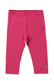 Baby Girls legging plain -Bampidano-Dark Pink