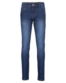 Blue Seven-Boys woven jeans trouser - Dk blue orig