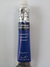 W&N Aquarelverf Tube Ultramarine