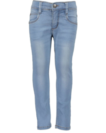 Blue Seven-Kids Grils woven jeans-Basic -Jeansblue