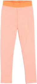 OChill-Girls Legging stripe Jet-orange