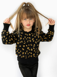 Vinrose -Girls Sweater-Black