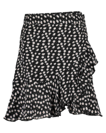 Blue Seven-Girls woven skirt-Black orig
