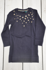 Kids girls knitted Sweat dress -Blue Seven-Night blue