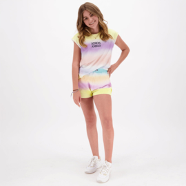 Vingino-X Senna Bellod-Girls  T-Shirt Helene-Pale Yellow