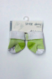 baby Uni pre Socks-Ducky Beau-light green-white