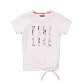 DJ Dutch Jeans-Girls T-Shirt ss-White