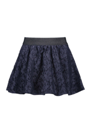 Girls lace skirt-B.Nosy-Oxford blue