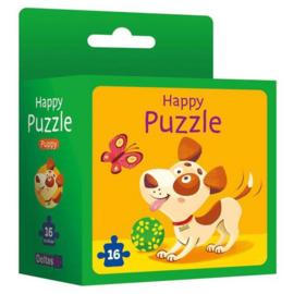 Deltas-Happy puzzle - Puppy -Green