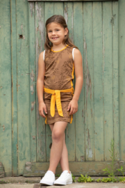 Lovestation22-Girls Dress Nadeche-Brown