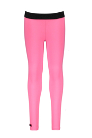 Girls Kids uni legging-B.Nosy-Knock out pink