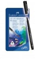 Faber Castell Aquarelpotloden 12 stuks en Art Grip gratis