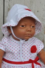 LPC-Baby Girls Muts Love- White- red
