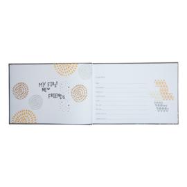 Kraambezoekboek-Jep!- grey multi