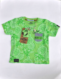 Boys Shirt Summer Citrus- Jn-Joy- Green