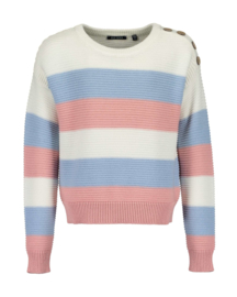 Girls knitted pullover-UPDATE-Blue Seven-ROSE ORIG