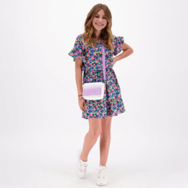 Vingino-X Senna Bellod-Girls  Dress Peppa-Dark Blue all over