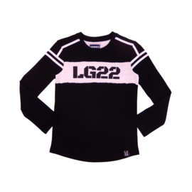Boys  Shirt LG22 printed-Legends22-Black and White