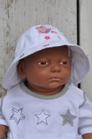 LPC-Baby Girls Muts Vlinder-White