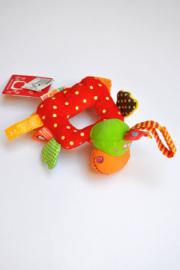 Unisex Frog rammelaar-Dushi- Div kleuren