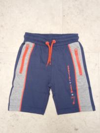 Blue Seven-Kids Boys knitted bermuda-Jeans blue
