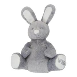 Pluche Konijn Zittend-VIB-Grey