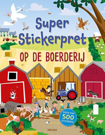 Super Stickerpret - Op de boerderij-Deltas-Multi Color