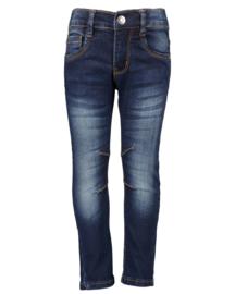 Blue Seven-Kids Boys woven jeans-Basic -DK Blue orig