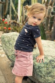Koko Noko-Girls Jeans skirt-Pink