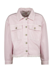 Vingino-X Senna Bellod-Girls  Denim Jacket Tanja-Bright Lavender-Light Pink