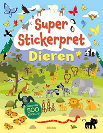 Deltas-Super Stickerpret - Dieren-Multi Color