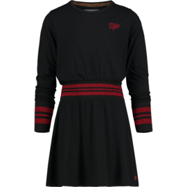 Vingino-Girls dress Pajol -Deep Black