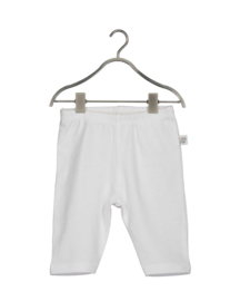 NB Baby girls knitted pants -Blue Seven-WHITE ORIG