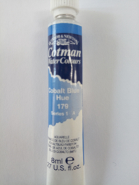 W&N Aquarelverf Tube Cobalt blue