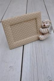 Unisex Zacht foto lijstje-Teddykompaniet-beige