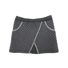 Girls Skirt Wrapover- LoFff- Grey