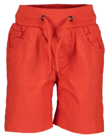Blue Seven-Mini Boys woven pull-up shorts -Tomato orig