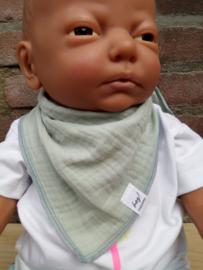 Maximo-Ewers-Unisex Mini Driehoekige sjaal-Mint