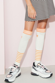 Nobell-Girls Teens- Rovy long sock-Off White