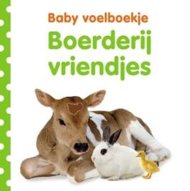 Baby voelboekje: Boerderijvriendjes-CBC-Wit