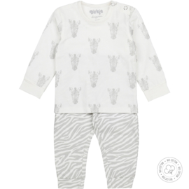 Dirkje-Baby Unisex  2 pce  pyjamas Bio Cotton-Off white