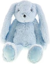 Mini Club-C.W.-Unisex knuffel konijn 37 cm-Light Blue